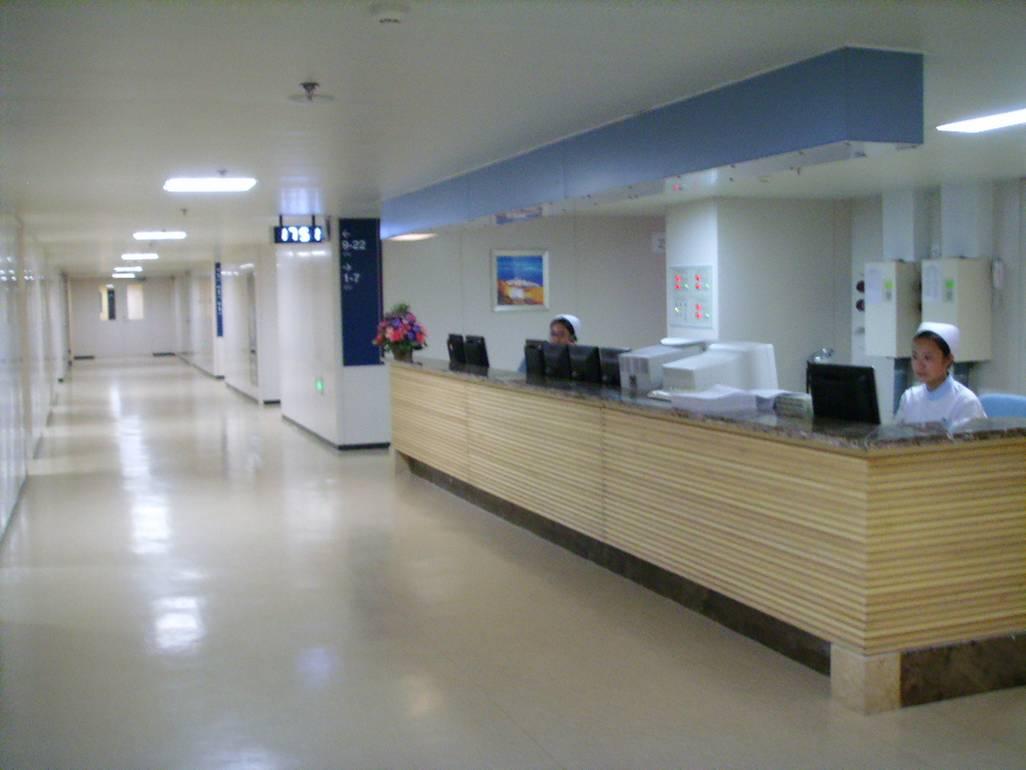 医院室内大病房设计效果图片_土巴兔装修效果图